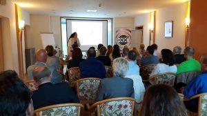 Vortrag am 14.07.2016 beim Businessclub Connexxion GmbH in Bühl: Wie Sie mit Google+ das Suchergebnis positiv beeinflussen. © Marc Eisinger